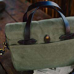 Filson Briefcase Green