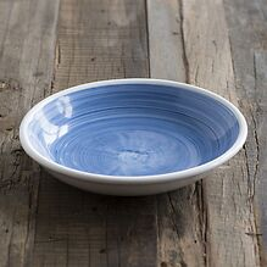 Ruggeri Suppenteller Brushed Ø 22 cm Brushed Blu