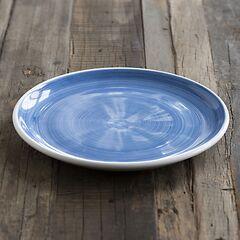 Ruggeri Mittlerer Teller Brushed Ø 26 cm Brushed Blu