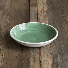 Ruggeri Suppenteller - Brushed Verde Ø 22 cm