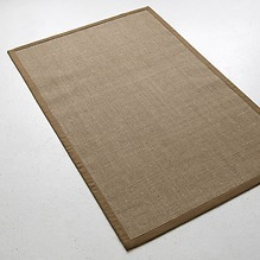 Sisalteppich Bouclé 275 x 365 cm Khaki