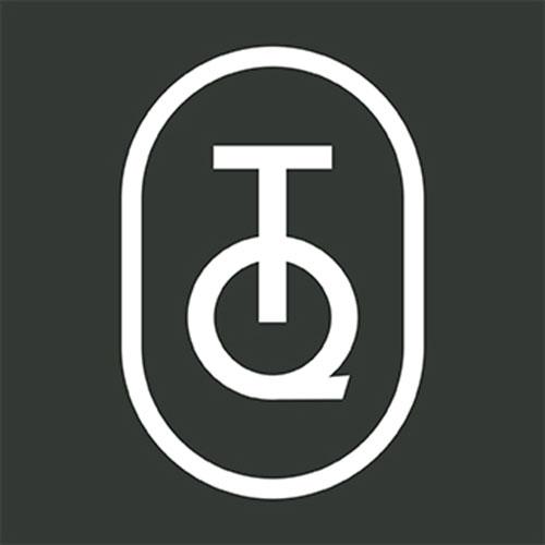 DutZ Konische Vase 10 cm Blue Petrol  Bubbles