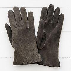 Herren Handschuh aus Ziegenleder Walnuß Gr. 7,5