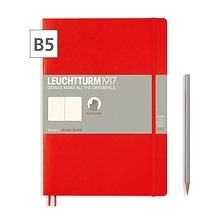 Notizbuch B5 Composition Blanko Rot