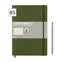 Notizbuch B5 Composition  Liniert Army