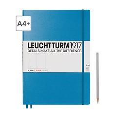 Notizbuch A4+ Master Slim Blanko Azur