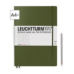 Leuchtturm1917 Notizbuch A4+ Master Slim Liniert Army