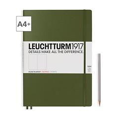 Leuchtturm1917 Notizbuch A4+ Master Slim Dotted Army