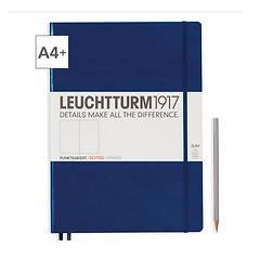Leuchtturm1917 Notizbuch A4+ Master Slim Dotted Marine