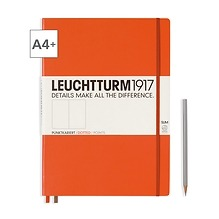 Notizbuch A4+ Master Slim Dotted Orange