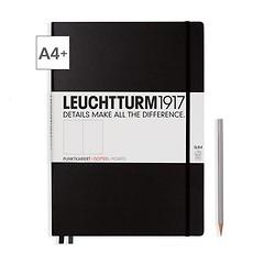 Notizbuch A4+ Master Slim Dotted Schwarz