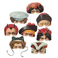 Karnevalsmasken Madame Tussauds