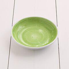Ruggeri Suppenteller Brushed Ø 22 cm Brushed Verde Mela