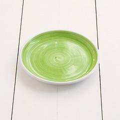 Ruggeri Kleiner Teller Brushed Ø 21 cm Brushed Verde Mela