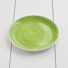 Ruggeri Mittlerer Teller Brushed Ø 26 cm Brushed Verde Mela