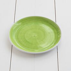 Ruggeri Mittlerer Teller Brushed Verde Mela Ø 26 cm