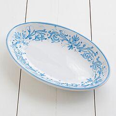Ruggeri Ovale Platte Adelasia Ø 36 cm Adelasia Azzurro