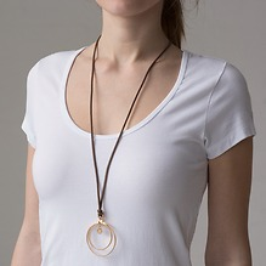 Marjana von Berlepsch Halskette Kila Vergoldet