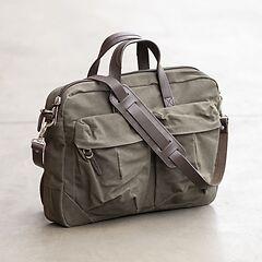 Property of - Tommy Work Bag Dark Tan