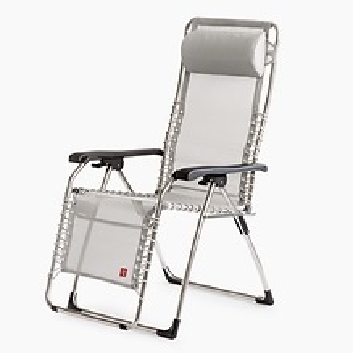 FIAM Aluminium Liegestuhl Relax Silbergrau