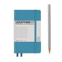Leuchtturm1917 Notizbuch A6 liniert Nordic Blue