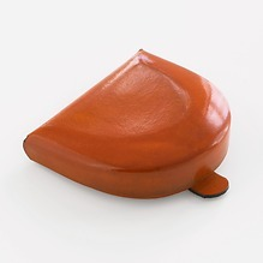 CAF Leder-Schüttelbörse Orange