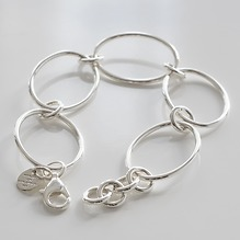 Marjanna von Berlepsch Armband Jungle Silber