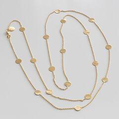 Marjana von Berlepsch Halskette Nela Sterling-Silber vergoldet