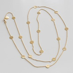 Marjanna von Berlepsch Halskette Nela Sterling-Silber vergoldet