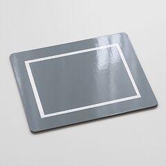 4 Tischsets Grey/Silver