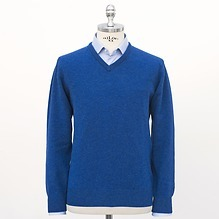 Hawick Lambswool V-Pullover