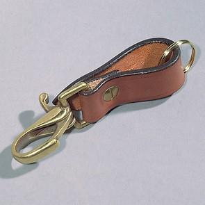 Schlüsselanhänger Snap braun