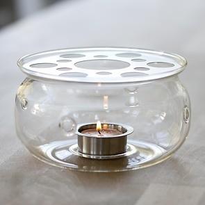 Stövchen Borosilikatglas