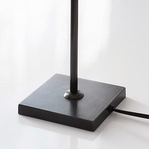 Kleine Tischleuchte 52 cm Schwarz
