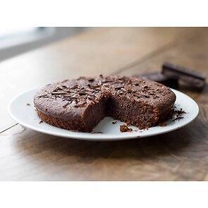 Provençalischer Mandelkuchen Schokolade