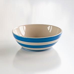 4 Müslischalen Cornishware Blau