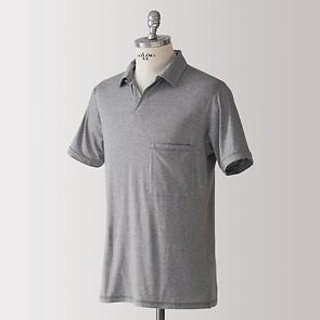 Sunday in Bed Pyjamashirt Morris Kurzarm Grau M