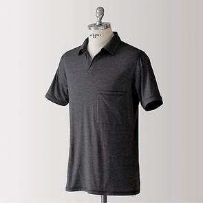 Sunday in Bed Pyjamashirt Morris Kurzarm Nearly Black XL