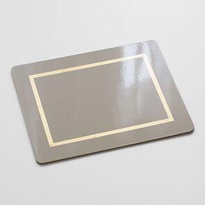 4 Tischsets 45 x 35 cm Bone/Gold