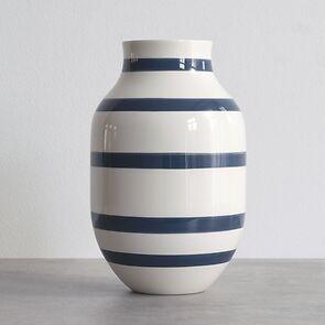 Omaggio Vase 31 cm Höhe Blau