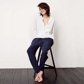 Sunday in Bed Shirt Noemi Langarm