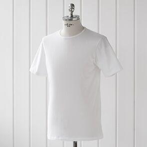 Sunspel T-Shirt mit Rundhals-Ausschnitt