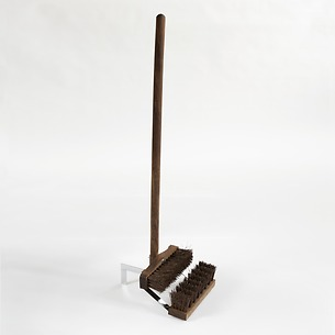 Hill Brush Schuhputzer mit Stock 'Boot Wiper'