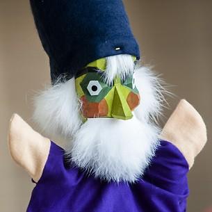 Sievers-Hahn Handpuppe Zauberer