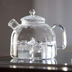 Wasserkessel aus Glas