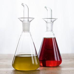 Essig-Ölspender Jenaer Glas