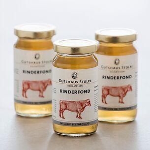 Gutshaus Stolpe Rinderfond 3 x 200 ml