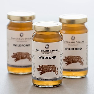 Gutshaus Stolpe Wildfond 3 x 200 ml