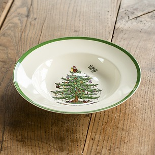 Spode Christmas Tree Suppenteller 23 cm