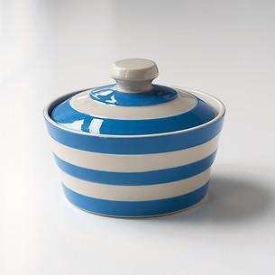 Butterdose Chornishware Blau